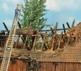 Brandlöschaktion beim Brandstadl