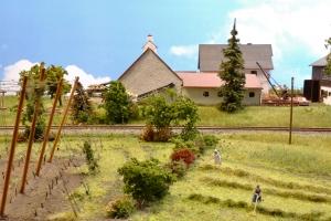 Bauernhof mit Erdkeller von Günter